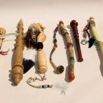 "The ""Talking Sticks"" made for April's challenge"