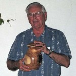 Jim with Cremation Urn
