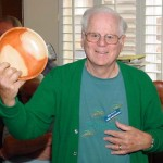 Bob with his Carob bowl