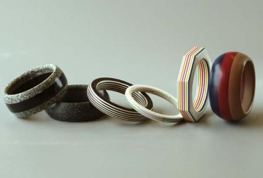 John Bailey  Corian bracelets ~ 3