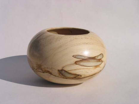 Levi Mize  Spalted bowl - ~ 10