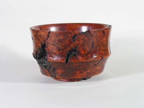 Warren Brown  Redwood Burl Bowl - ~5