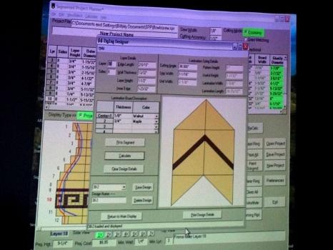 Zig zag designer module