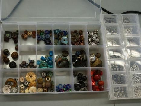 A few beads