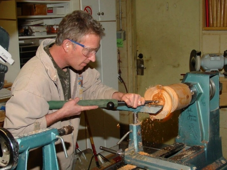 Hollowing with the Monro tool