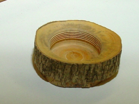Completed inside thread in English Boxwood