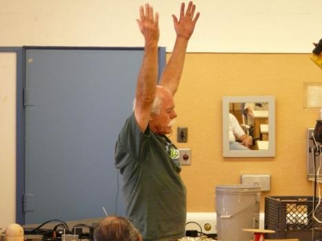 Lathe Yoga lesson