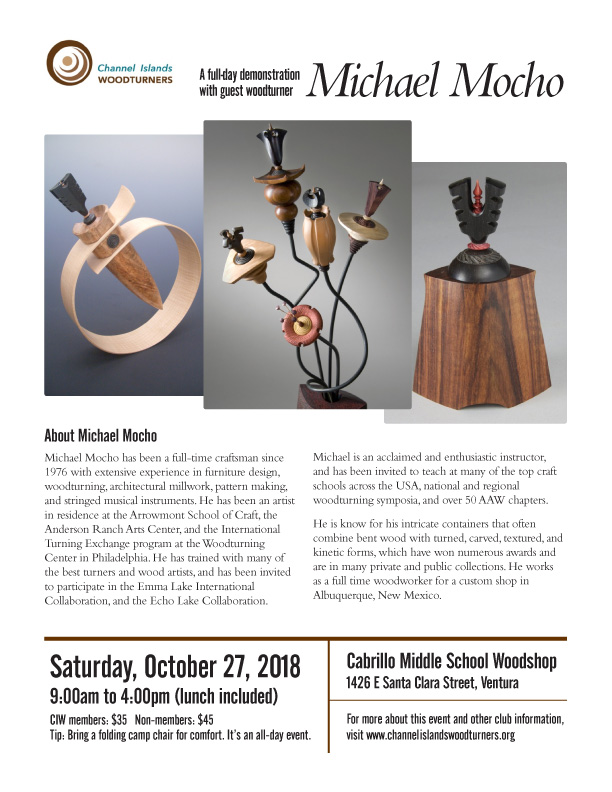 c50d720d6 Next Meeting | Channel Islands Woodturners | Southern California