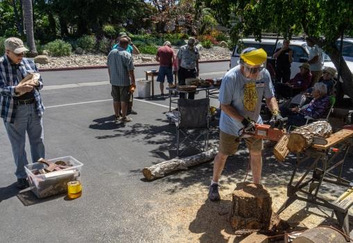 June 2021 – Wood Exchange and Raffle