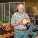 Seth with natrual edge bowl