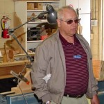 Chuck discussion joining the CI Woodcarvers for a show in October