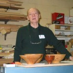 Al leading the meeting with some of his bowls visible