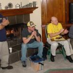 New members James and Mark, President Al Geller, and Herm Ross