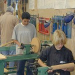 More students at work