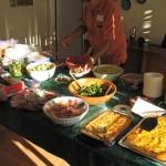 Lots of food!