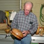 Al Kikby with a bowl
