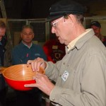 Jim with Douglas Fir and Red Epoxy Bowl