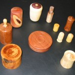 Lidded boxes for the monthly Challenge