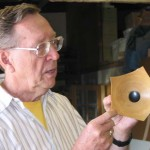Jim discussing the Un-Natural-Edge Bowl