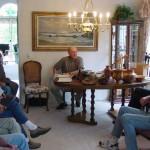 Al Geller leading meeting.