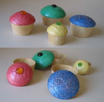 Cup cake boxes - Ash - 3