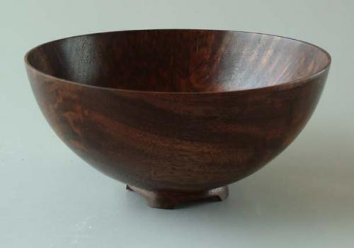 Walnut Burl Bowl - 3