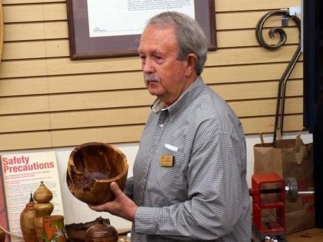 Gary K. - Manzanita and Black Walnut bowls