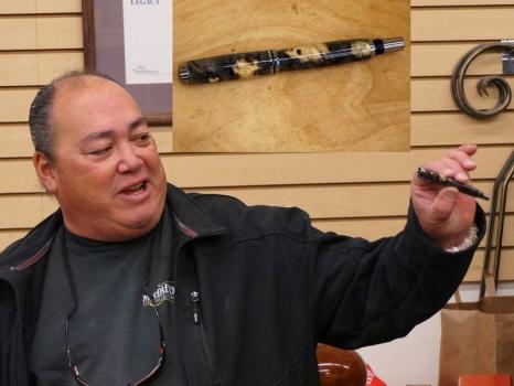 Robert M. - Buckeye burl pen