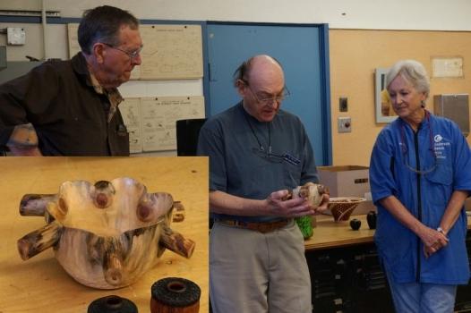 Trio of critics: Ron L.'s Star Pine bowl inspired by Pat Kramer