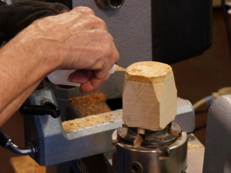 Firming up punky wood with CA glue