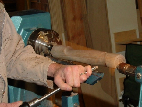 Cutting air with gouge