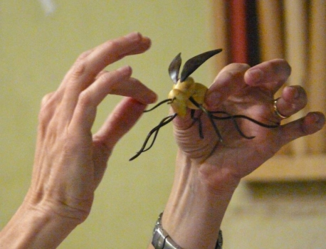 Bug form with Compwood wings and legs