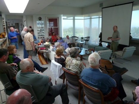 Terry Martin talk hosted at the Gellers