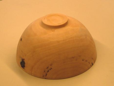 Finished Liquid Amber bowl