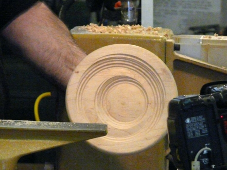 Final shaping of smaller form